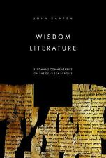 (New) Wisdom Literature - Eerdmans Comentaries on the Dead Sea Scrolls