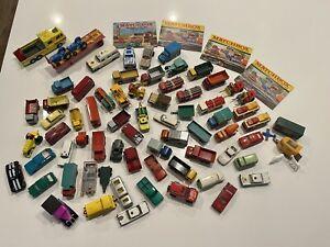 Vintage Lesney Matchbox Die Cast Lot