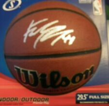 Frank Kaminsky Signed Wilson NCAA Basketball Wisconsin Badgers POY