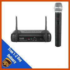 Pulse VHF Wireless Handheld Microphone Mic System | DJ | PA | Disco
