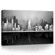 CANVAS LEINWANDBILD WANDBILD NEW YORK FREIHEITSSTATUE USA-  60cm x 40cm