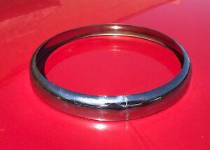 Saab 96 Front headlight trim ring bezel - original