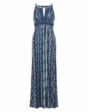 💖 New Monsoon Karolina Maxi Dress size 12-14 medium holiday  wedding