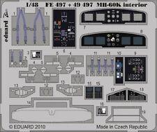 Eduard Zoom FE497 1/48 Italeri Mh-60k Black Hawk