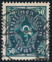 DR 1922, MiNr. 209 P Y, sauber gestempelt, Fotoattest Weinbuch, Mi. 1100,-