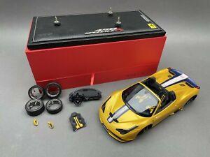 1:18..BBR Models--P18102 Ferrari 458 Speciale stark BESCHÄDIGT !  6 F 862