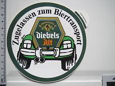 Aufkleber Sticker Diebels Alt - Brauerei - Altbier - Kneipe  - 80er (M1003)