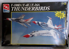 AMT ERTL Model THUNDERBIRDS F-100D F-4E F-16A 1995 SEALED Unopened USAF
