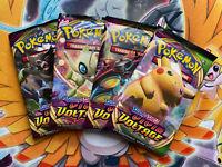 4x Pokemon TCG Sword & Shield Vivid Voltage Booster Pack SHIPS FAST