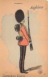 BR64819 grenadier guard postcard    army military militaria england
