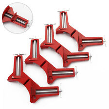 """4pcs 4"""" RIGHT ANGLED MITRE Clamps Vices PICTURE FRAME CLAMP"""