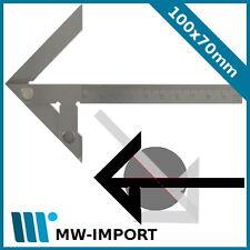 Zentrierwinkel 100 x 70 mm,  Welle bis 90 mm, METEHA