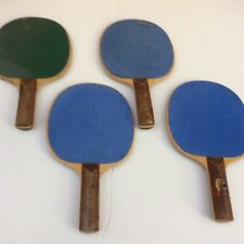 4 vintage Harvard ping pong paddles   table tennis paddle lot * 5 ply