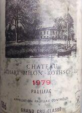 Bouteille de Vin Vide Chateau Duhart-Milon-Rothschild 1979  Pauillac Magnum1,5L