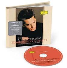 Herbert Karajan Berliner Philharmoniker - Beethoven: 9 Symph (NEW BLU-RAY AUDIO)