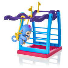 Swing Playground Gym Climbing Stand Playset Toy for Interactive Finger Monkey Wo