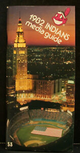 1982 Cleveland Indians Official Media Press Guide, 128 Pages of Facts & Fun!