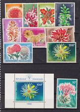 rwanda 1966 Sc 151/60 + 160a,flower,set MNH    l1828
