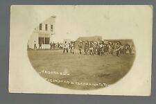 Kadoka SOUTH DAKOTA RP 1908 SIOUX INDIANS Indian Parade nr Murdo Philip LEELAND?