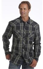 New Mens Cinch M Medium Garth Brooks Sevens Long Sleeve Cowboy Shirt