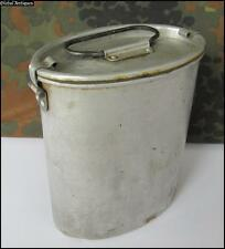 WWII ORIGINAL GERMAN ALUMINUM MESS KIT FOOD CAN