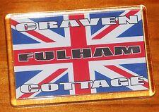 Fulham Craven Cottage Union jack flag football fridge magnet