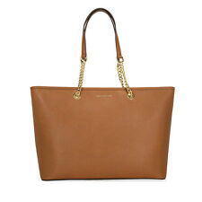 Michael Kors Jet Set Travel Medium Saffiano Leather Tote - Luggage