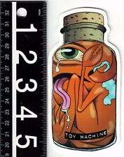TOY MACHINE AXEL JAR STICKER Toy Machine Axel Jar Skate 5.25 in x 2.5 in Decal