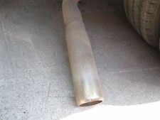 87 Ford F-350 Exhaust Tip WILL BE CUT WILL NEED RE-WELDING 1987