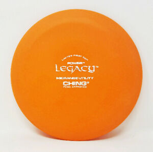 """Legacy Power Ching First Run """"Limited"""" 165g Orange Disc Golf NEW *PRIME* Rare"""