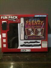 Foto Frenzy (Nintendo DS, 2009)  Fun Pack New W/ Neoprene Case & 2 Stylus Pens