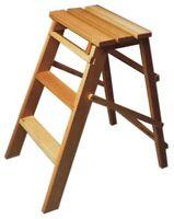 sgabello scala 3 gradini sgabellino scaletto in legno scale e scaletti