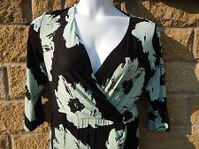 Debenhams V-Neck Floral Regular Size Dresses for Women