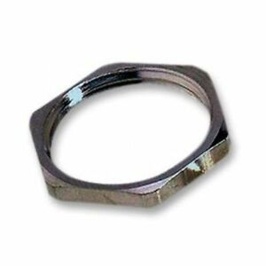 Lapp Kabel 52103020 M20 Brass Nickel Hexagonal Locknut / Counter-nut