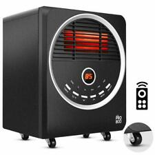 Space Heaters for Indoor use – Portable with 4 wheels, Eco/750W/1500W, 3 Heating