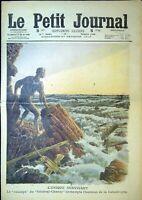Le Petit Journal N°1006 du 27/2/1910 L'Unique survivant, Général-Chanzy