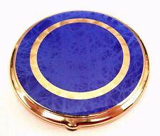 Beautiful Vintage Gold Metal Mesh Hinged Mirror Compact