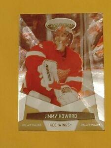 2010-11 Panini Certified Platinum Gold #53 Jimmy Howard #/25 Detroit Red Wings