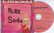 GLASS ANIMALS PORK SODA 3 TRACK PROMO CD