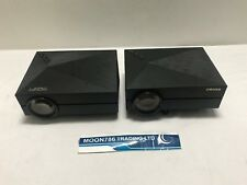 JOBLOT OF 2 TRONFY & CRENOVA LCD HDMI PROJECTORS USED IMAGE BLURRY  - REF 1383