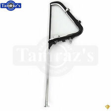 51-54 Chevy Pickup Truck DOOR VENT Wing Window Glass CHROME Frame Handle Asm RH