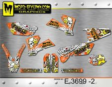 KTM EXC 450 525 2004 stickers kit graphics decals Moto Style MX