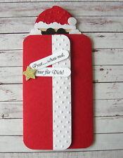 Witzige Geldgeschenk - Verpackung Weihnachten Nikolaus* Gutschein