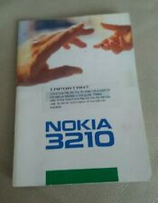 Nokia 3210 User Guide Manual