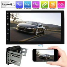 """Universal 7"""" Android 8.1  Car 2DIN GPS Navigation Radio Stereo Player 4Core Wifi"""