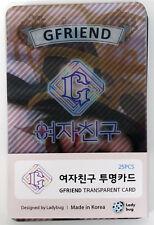 G-FRIEND GFRIEND - TRANSPARENT PHOTO CARD 25pcs of Photocards Set