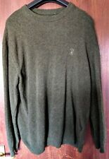 Deerhunter Men's 2XL O Neck Green Pullover Hunting Shooting