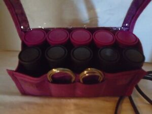 Remington 10 Rollers Medium & Large Hot Travel Set Hair Curlers
