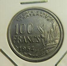 France; 100 Francs 1954B great quality