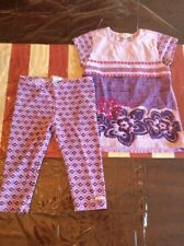 Naartje Girls Size 8 Outfit Top And Capri Leggings